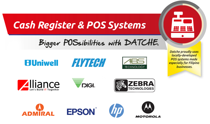 datche brands for cash registers and pos systems