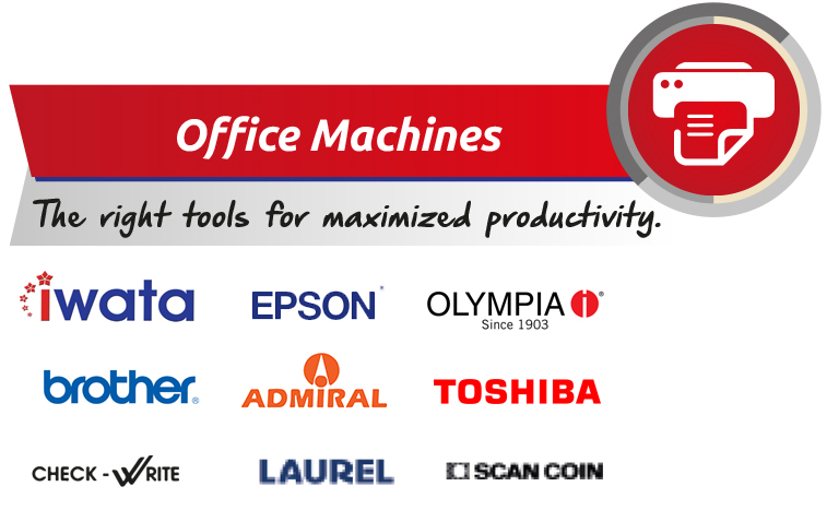 datche brands of office machines philippines