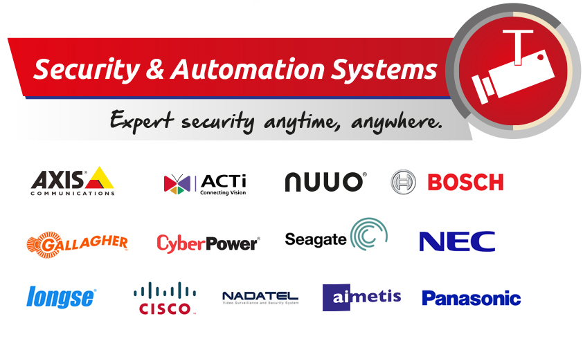 datche brands of security and automation systems